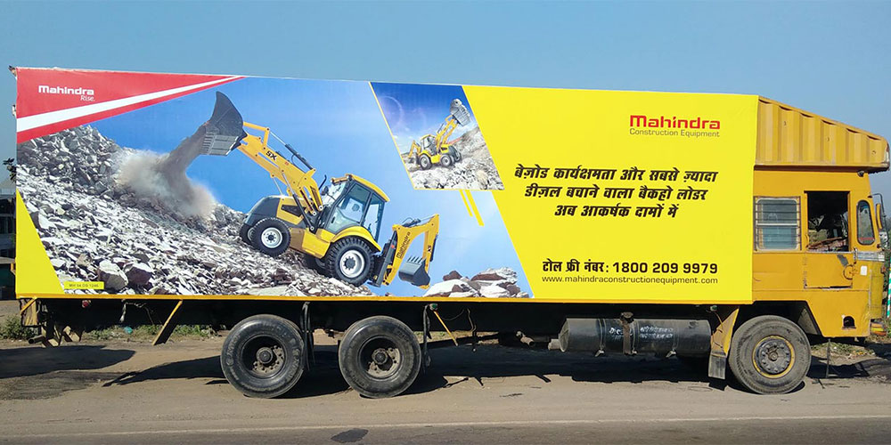RoadAds India – Mobile Billboards – Best Truck Advertisement